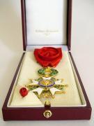 Order Legii Honorowej kard. Adama Kozłowieckiego SJ, fot.A.Sułkowski