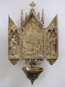 Kropielniczka, metal srebrzony, Francja, XIX/XX w., fot.A.Sułkowski