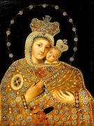 Matka Boska z Dzieciątkiem, olej na płótnie, XIX w., fot. A. Sułkowski