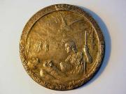 Medal: <i>Poległym na polu chwały</i>, A. i R. Lewandowski, 1915 r., fot. A. Sułkowski