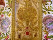 Fragment ornatu arcyb. I. Raczyńskiego, XVIII w. (przeszyty w 1822 r.), fot.A.Sułkowski