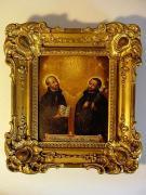 św. Lgnacy Loyola i św. Franciszek Ksawery, olej na blasze, 1 poł. XVII w., fot.A.Sułkowski