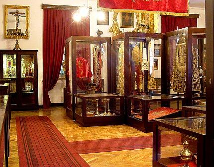 Wnętrze Skarbca Muzeum, fot.A.Sułkowski